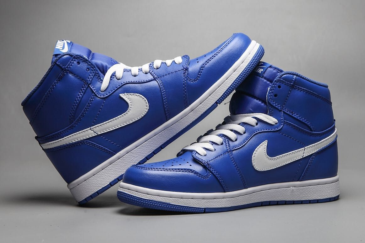 New Air Jordan 1 Retro Royal Blue White